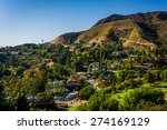 view of houses and hills in... | Shutterstock . vector #274169129