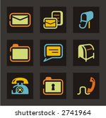Web Icons Set. Mail And...
