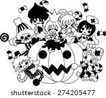 today is a pleasant halloween... | Shutterstock .eps vector #274205477