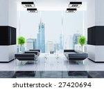 modern interior of a hall   Shutterstock . vector #27420694