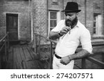 Bearded Italian Boss Smoke The...