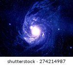 glorious wormhole in space  ... | Shutterstock . vector #274214987