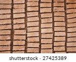 clay brick row | Shutterstock . vector #27425389