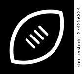 football vector icon   Shutterstock .eps vector #274256324