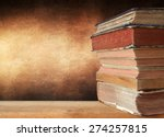 stack of books | Shutterstock . vector #274257815