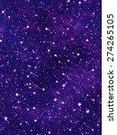 nebulae and stars background | Shutterstock . vector #274265105