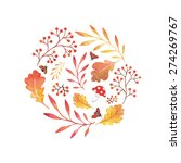Watercolor Vector Elements Of...
