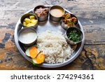 Nepali Thali Meal Set With...