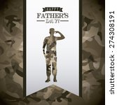 fathers day design  vector... | Shutterstock .eps vector #274308191