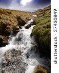 waterfall  ben nevis  scotland