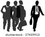 group of businessmen | Shutterstock . vector #27435913