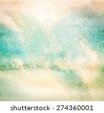 grunge vintage old paper... | Shutterstock . vector #274360001