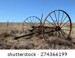 Old Rustic Farm Equipment Lies...