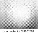 grunge halftone vector... | Shutterstock .eps vector #274367234