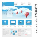 one page website design for...