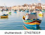 Colorful Typical Boats  ...