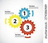 business concept   teamwork   3 ...   Shutterstock .eps vector #274386989