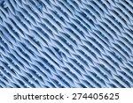 wooden basket background or...   Shutterstock . vector #274405625