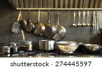 stainless steel cookware  ... | Shutterstock . vector #274445597