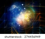 geometry of virtual space... | Shutterstock . vector #274456949