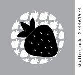 illustration of strawberries  ...   Shutterstock .eps vector #274461974