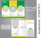 tri fold brochure vector design | Shutterstock .eps vector #274467971