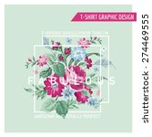 floral graphic design   for t...   Shutterstock .eps vector #274469555