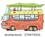 double decker tourist bus  ...