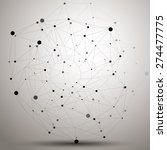 vector complicated 3d figure ... | Shutterstock .eps vector #274477775
