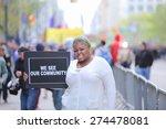new york city   may 1 2015 ... | Shutterstock . vector #274478081