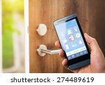 smart house  home automation ... | Shutterstock . vector #274489619