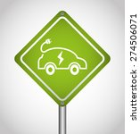 electric car design  vector... | Shutterstock .eps vector #274506071