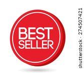 guaranteed seal design  vector... | Shutterstock .eps vector #274507421