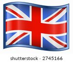united kingdom flag icon | Shutterstock .eps vector #2745166