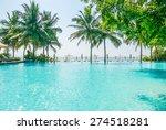 poolside | Shutterstock . vector #274518281