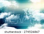 2d business graph background   Shutterstock . vector #274526867