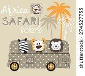 African Wild Animals Zebra...