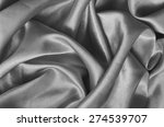gray texture satin. silk... | Shutterstock . vector #274539707