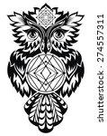 owl | Shutterstock .eps vector #274557311