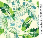 crazy beautiful imprint... | Shutterstock .eps vector #274561655
