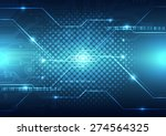 abstract future technology... | Shutterstock .eps vector #274564325