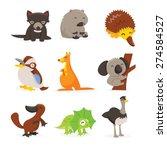 a cartoon vector illustration... | Shutterstock .eps vector #274584527