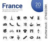 france icons | Shutterstock .eps vector #274601084