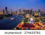 Bangkok Cityscape. Bangkok...