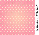 Seamless Vintage Pink Polka Dot ...