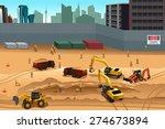 a vector illustration of scene... | Shutterstock .eps vector #274673894