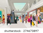 a vector illustration of people ... | Shutterstock .eps vector #274673897
