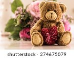 Love You   Teddy Bear With...