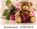 Love You   Teddy Bear With...