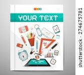 book   brochure   leaflet... | Shutterstock .eps vector #274675781
